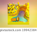 green earth concept in isometric view 19942384