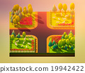 Sheep in the landscape, isometric view 19942422