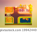 green earth concept in isometric view 19942440