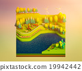 green earth concept in isometric view 19942442
