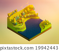 green earth concept in isometric view 19942443
