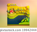 green earth concept in isometric view 19942444