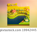green earth concept in isometric view 19942445