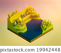 green earth concept in isometric view 19942448