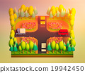 green earth concept in isometric view 19942450