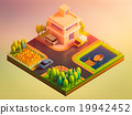 green earth concept in isometric view 19942452