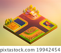 green earth concept in isometric view 19942454