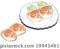 小圆面包 面包卷 小餐包 19943461