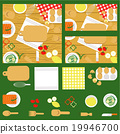Food and cooking banner set 19946700