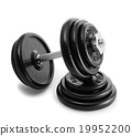 Dumbbell with extra weights 19952200