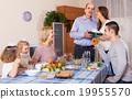 Congratulation heartily family at home 19955570