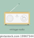 Retro radio 19967344