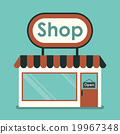 Shop Front for your store product presentation  19967348