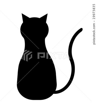 猫的剪影 19973835