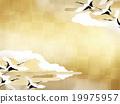 背景 日本吊車 鶴 19975957