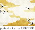 背景 日本吊車 鶴 19975991