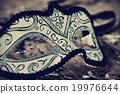 elegant carnival mask, filtered 19976644