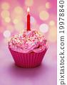 Happy Birthday Cupcake 19978840