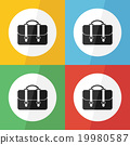 bag icon ( flat design ) 19980587