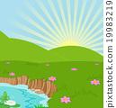 Summer Landscape 19983219