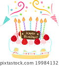 生日 蛋糕 磅装蛋糕 19984132