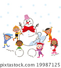 snow, snowy, childrens 19987125
