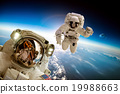 astronaut creative science 19988663