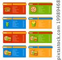 Fast Food Menu Banners 19989468