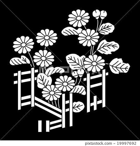언제 보아도 繁経 籬架菊 19997692
