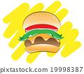 burger, burgers, hamburger 19998387