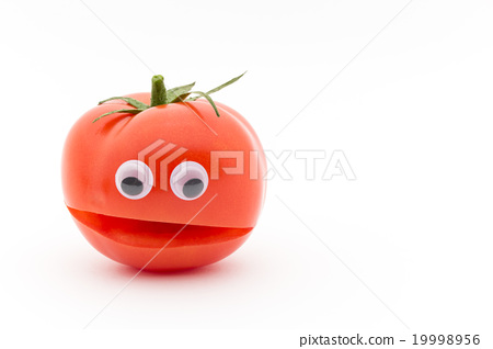 眼睛封印和西红柿:摇摆眼睛的西红柿 19998956