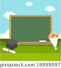 celebrations of graduation with blackboard 19999097