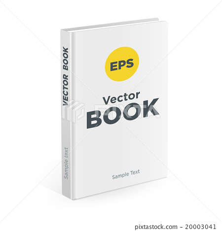 Realistic book on the white background 20003041