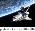 卫星 穿梭班机 空间 20009986