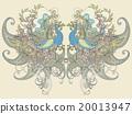 鸟 矢量图 矢量 20013947