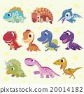 恐龙 矢量 矢量图 20014182