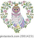 猫头鹰 矢量 矢量图 20014231