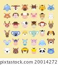 動物 向量圖 向量 20014272
