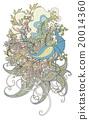 鸟 详尽的 雅致 20014360