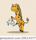 音樂 樂譜 動物 20014377