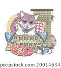 貓 向量圖 向量 20014634