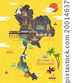 泰国 矢量图 矢量 20014637