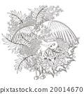 矢量 矢量图 抽象 20014670