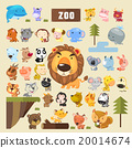 动物园 动物 矢量图 20014674