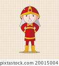 消防员 制服 男人 20015004