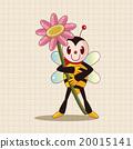 蜜蜂 可爱 插图 20015141