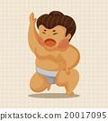 相扑 竞赛 男人 20017095