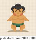 相扑 竞赛 男人 20017100