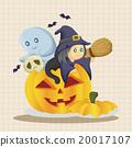 女巫 萬聖節 圖標 20017107
