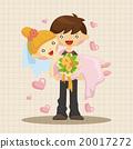插圖 新郎 新娘 20017272